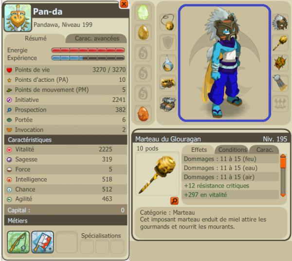 Drop Total et Nouveau Stuff du Panda !