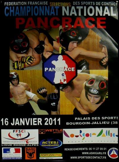 Pancrace Sélections de la Coupe France à Bourgoing Jailleu le 15 janvier 2011