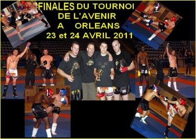 Résultats des Finales du Tournoi de l'Avenir 2011 en Kick-Boxing