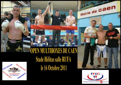 Open Multi-Boxes de Caen le 16 octobre 2011