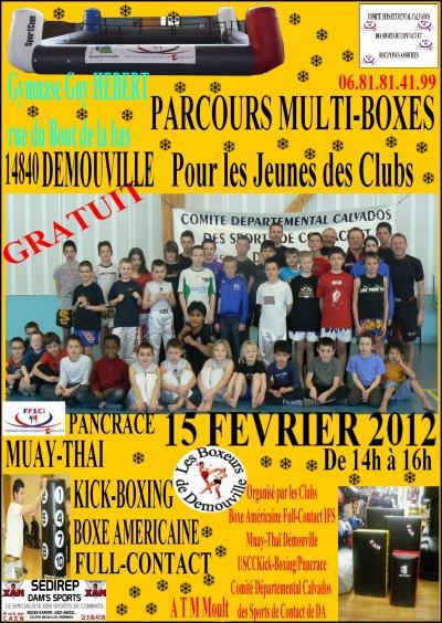 Parcours Jeunes Multiboxes le 15 février 2012 à Démouville 14840