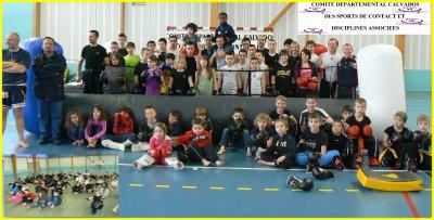 Parcours Jeunes Multiboxes le 15 février 2012 à Démouville 14480