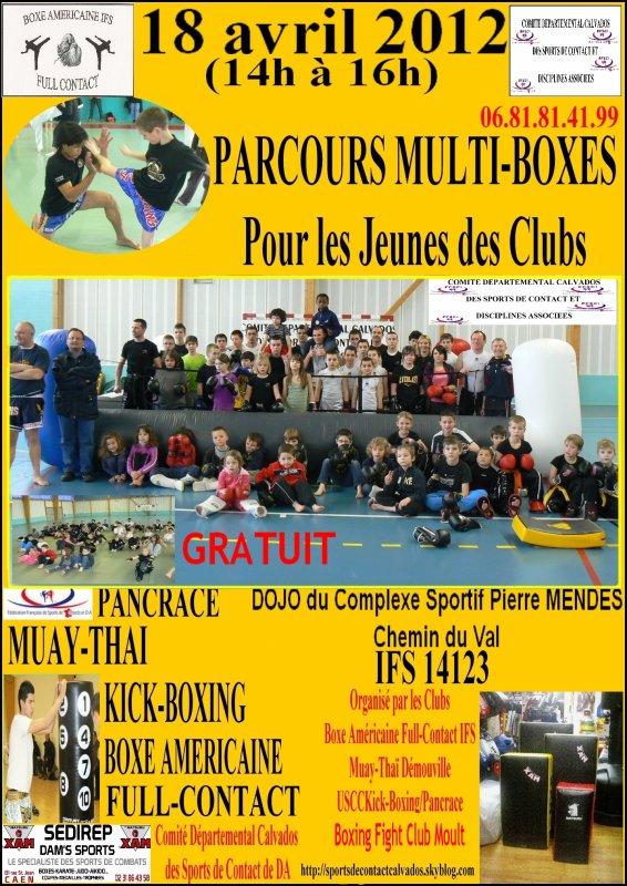 Parcours Jeunes Multiboxes le 18 Mai  2012 à Ifs 14123