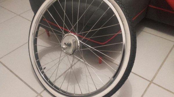 Restauration roue avant av3 motoconfort