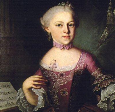 Maeva Méline et Nannerl Mozart.