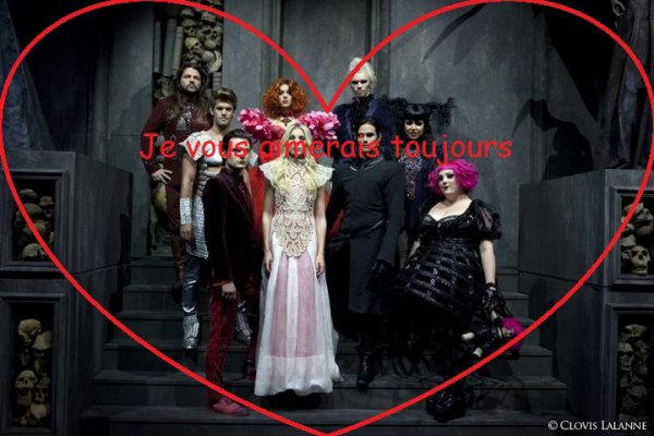 Projet pour toute la troupe de Dracula, l'amour plus fort que la mort.