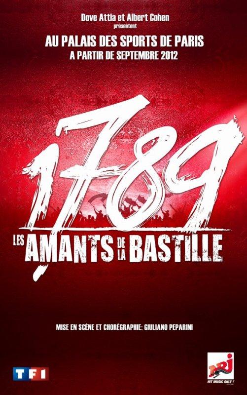1789, les amants de la Bastille.