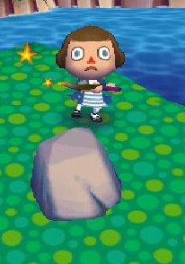 Le rocher a clochettes.