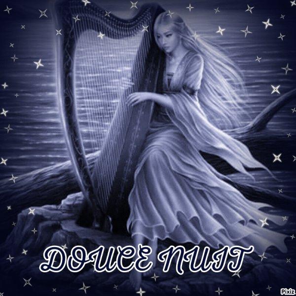 DOUCE NUIT MON AMI (E)? FAIT DE BEAUX Rêves bisous ?
