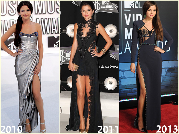 Selena Gomez lors des MTV Video Music Awards au Barclays Center. Brooklyn, le 25 août 2013.