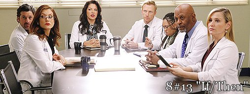 "Saison 8 Episode 13 "" If/Then """