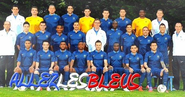Equipe de Francea l'Euro 2012