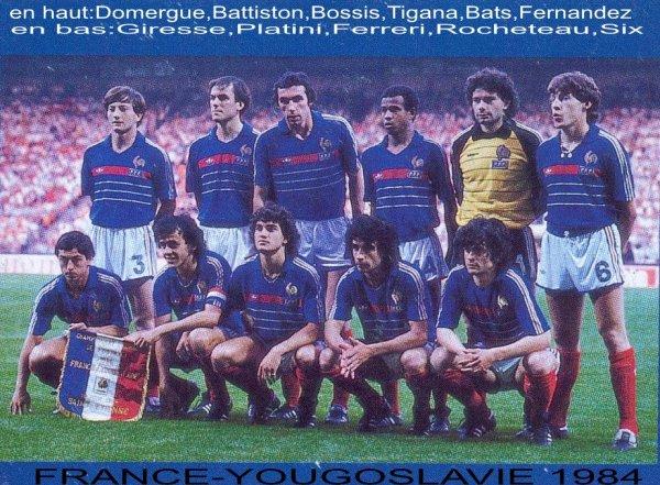 L'Equipe de France 1984