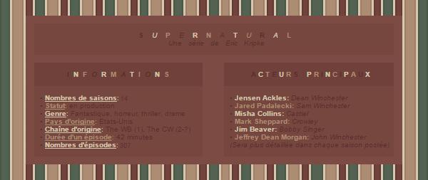. _CREATION____DECORATION____DECO DECALEE?_ » Article « série » : Supernatural ¯¯¯¯¯¯¯¯¯¯¯¯¯¯¯¯¯¯¯¯¯¯¯¯¯¯¯¯¯¯¯¯¯¯¯¯¯¯¯¯¯¯¯¯¯¯¯¯¯¯
