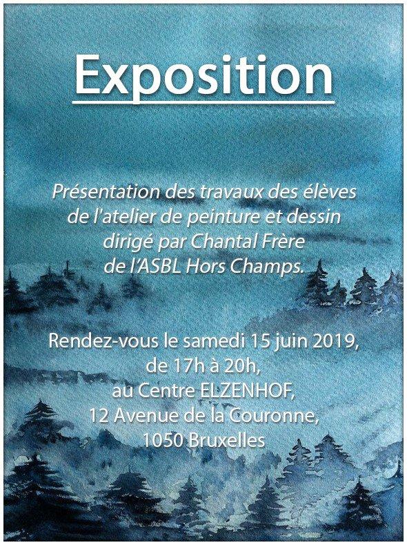 Dans le cadre de cet évènement, j'exposerai quelques-unes de mes aquarelles ... Je serais heureuse de partager cette belle expérience avec vous !
