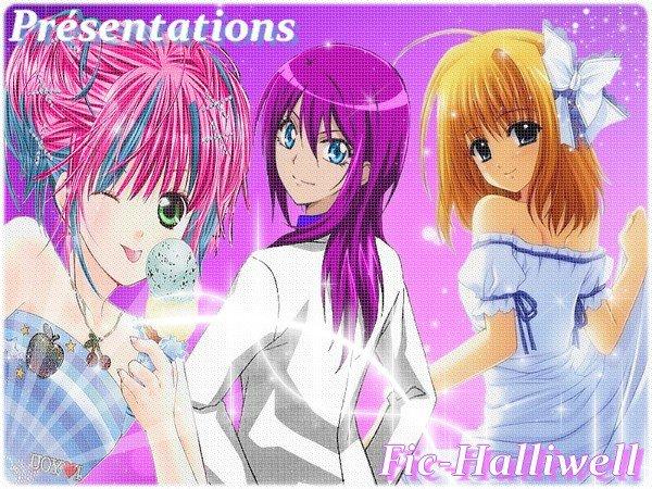 P R E S E N T A T I O N S :                    « Les trois soeurs »                                                                                                                                                                                                                                                                                                         Fic-Halliwell