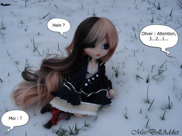Bataille de boule de neige !