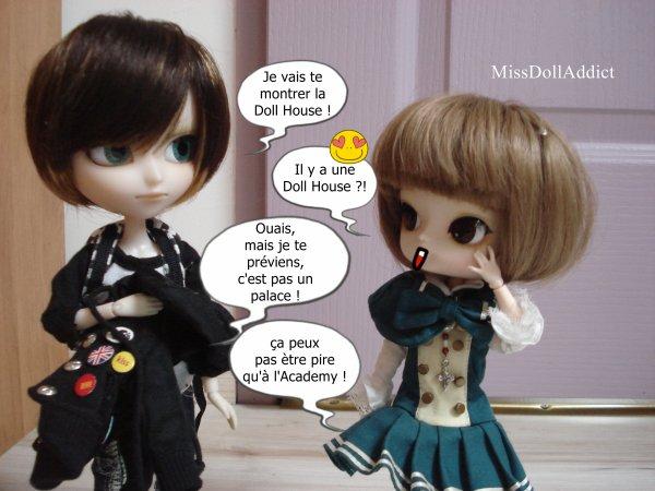 Rencontre entre Yumi et Eida !