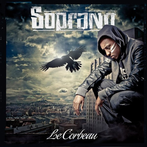 soprano sort l album ( le corbeau ) le 21 mars 2011  voici la cover