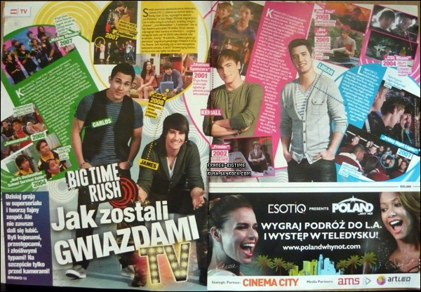 - Scans -   du magazine Bravo! version Polonaise.