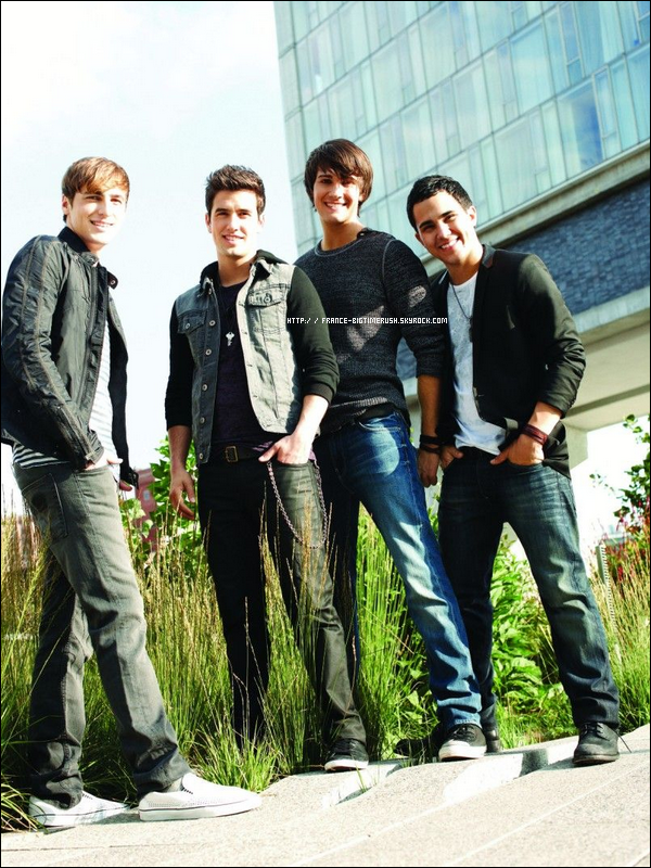 .  - Interview -  de Kendall, Carlos, Logan et James par le site Fanlala.com.
