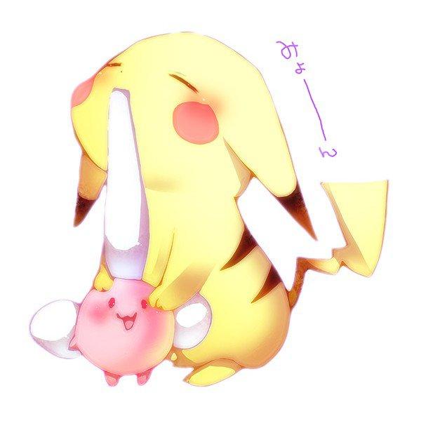 Pika pika pikachu top manga anime mode kawaii 3 - Image pikachu ...