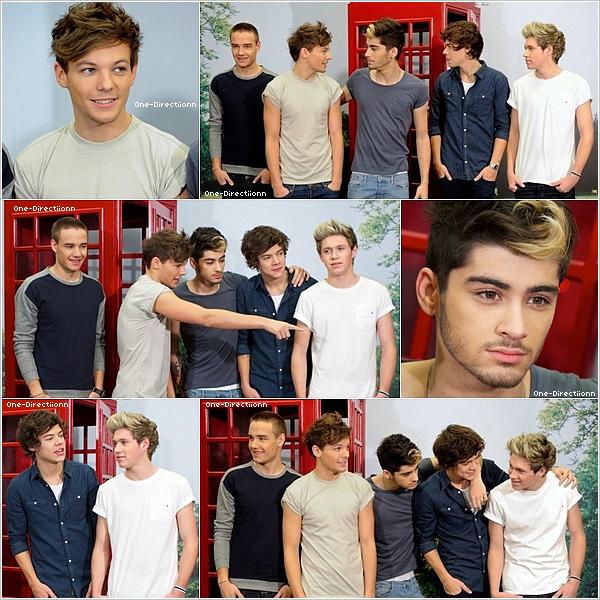 . 30/10 : Les garçons ont été aperçu quittant les bureaux à Kensington à Londres. Les garçons semblent etre fatigués. Harry qui se prend un coup de sac par une dame. :mdr:  .