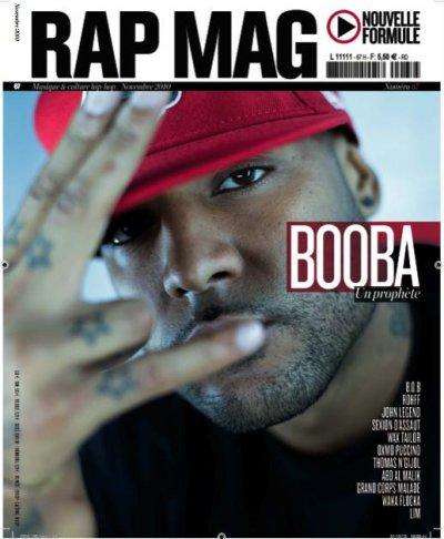 BOOBA EN COUVERTURE DE RAP MAG!!
