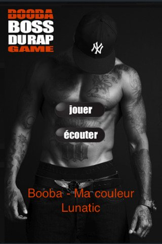 "APPLICATION IPHONE ""BOOBA BOSS DU RAP GAME"""