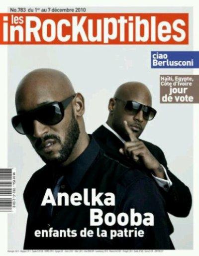 BOOBA & ANELKA EN COUVERTURE DES INROCKS