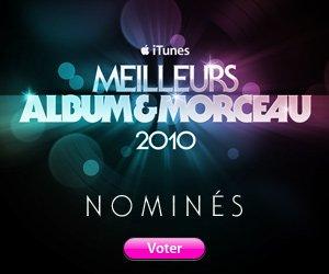 """ALBUM DE L'ANNÉE ITUNES : VOTEZ POUR """"LUNATIC"""""""