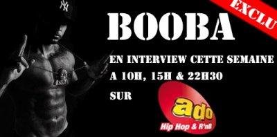 BOOBA TOUTE LA SEMAINE SUR ADO FM