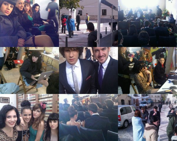 Photos du tournage de l'épisode 14