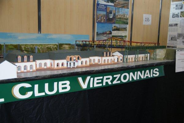 Gare de Vierzon vue de 3/4 face
