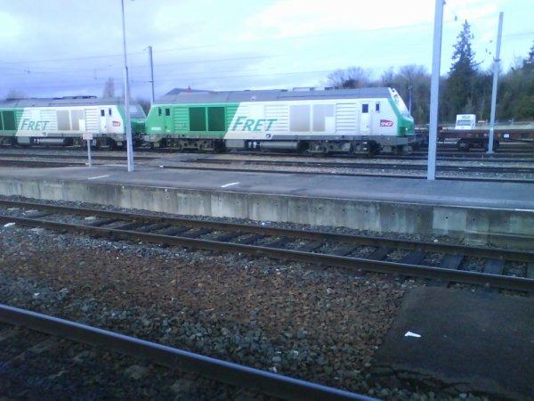 Prise en Gare de Bourges
