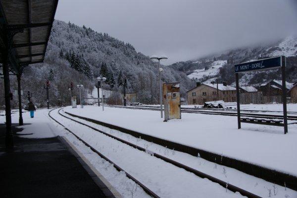 Gare du Mont Dore