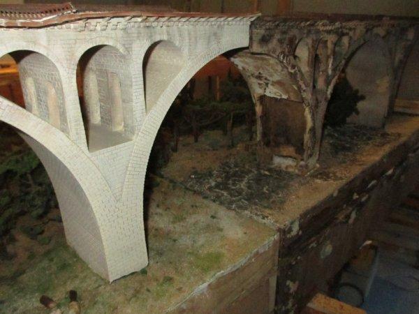 Viaduc de St Florent sur Cher en H0
