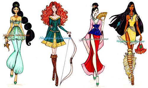 Les princesses du monde perfecte walt disney blog source disney - Toutes les princesse disney ...