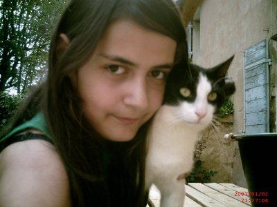 Moi et mon chat <3