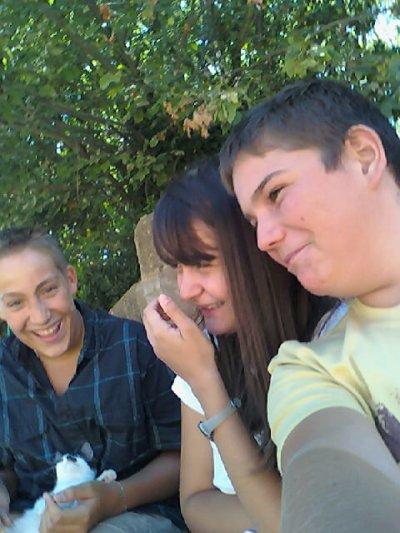 Thomas,Samy et moi