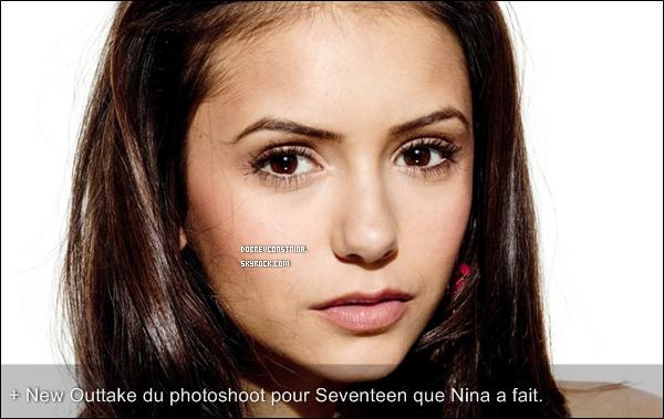 NINA A POSTÉ DE NOUVELLES PHOTOS SUR SON TWITTER. ON Y VOIT LE CAST !