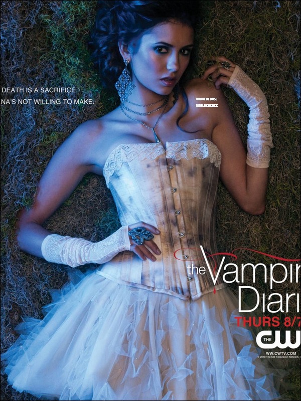 Nouvelle photo promotionnelle pour la saison 2 de « Vampire Diaries ». Sublime !