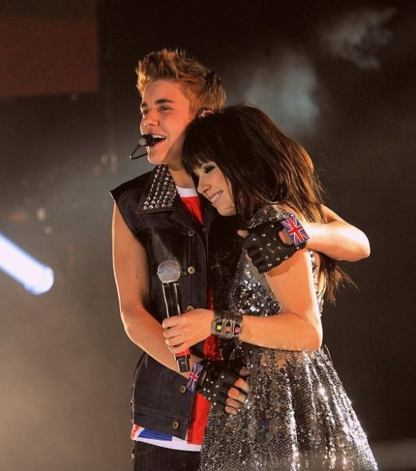 Carly au Believe Tour