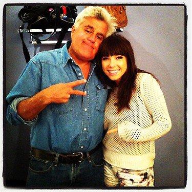 Jay Leno Show avec Carly Rae Jepsen