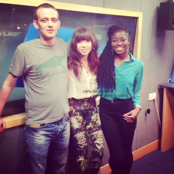 Radio KISS FM Londres, 4 Septembre 2012