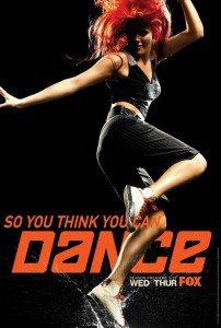 Carly sur le plateau de 'So you Think You Can Dance'