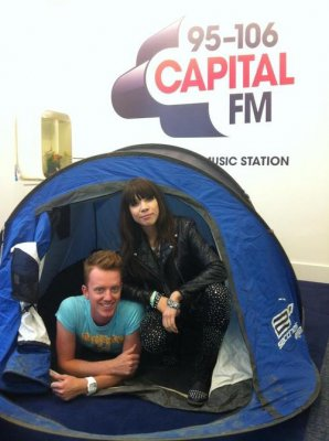 Carly chez Capital FM !