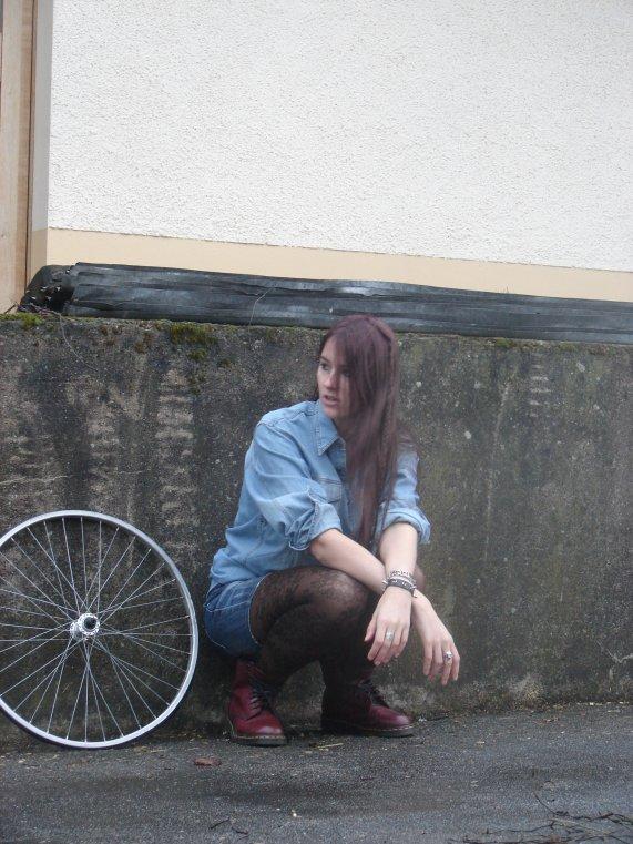 Roue de vélo...