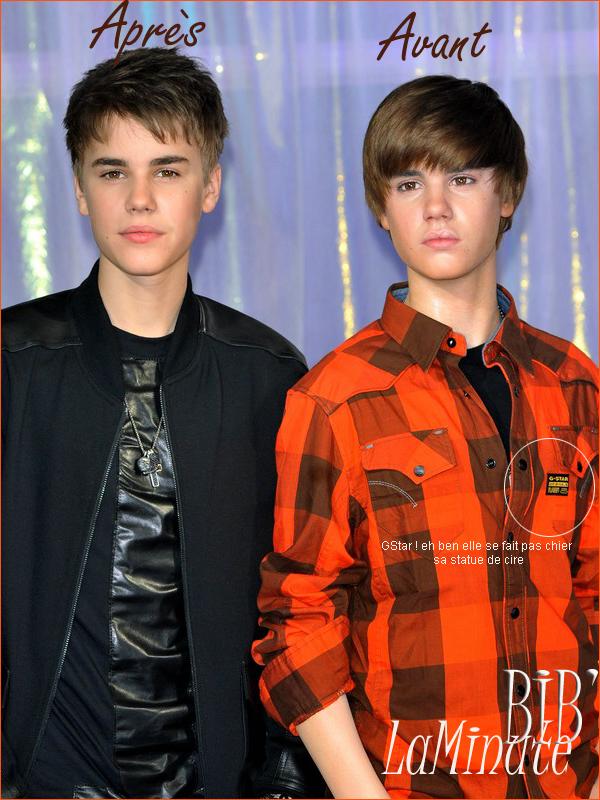 """. La Minute Bieber Bieber Bieber ouuuuh (a lire sur le ton de la chanson """"Baby"""")   . . C'est moi où c'est quand même peu ressemblant ...."""