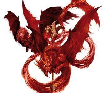 dragon de sang